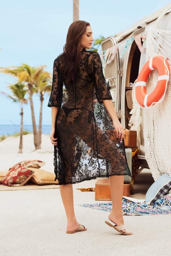 Bahama mama lace cover up