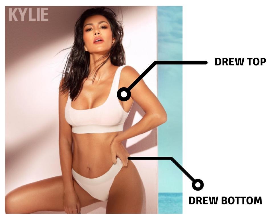 Kourtney Frankies Bikini