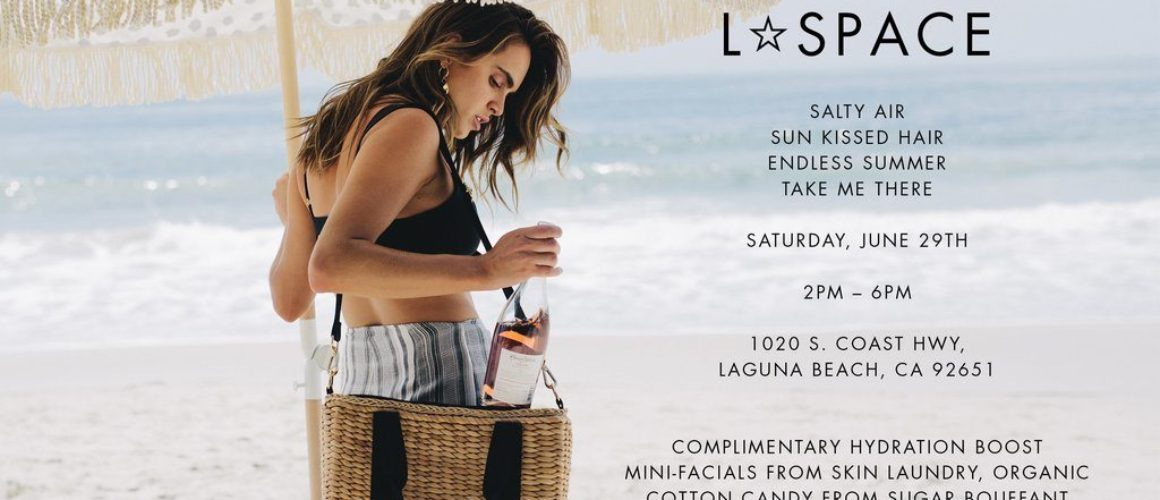 L*SPACE x The Shop Laguna Summer Trunk Show