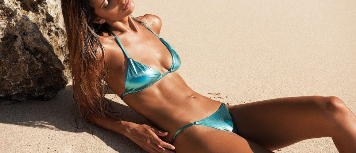 Metallic Swimwear Options