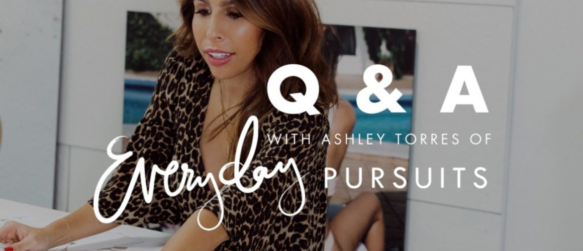 Behind The Collection: Q&A with Ashley Torres of Everyday Pursuits