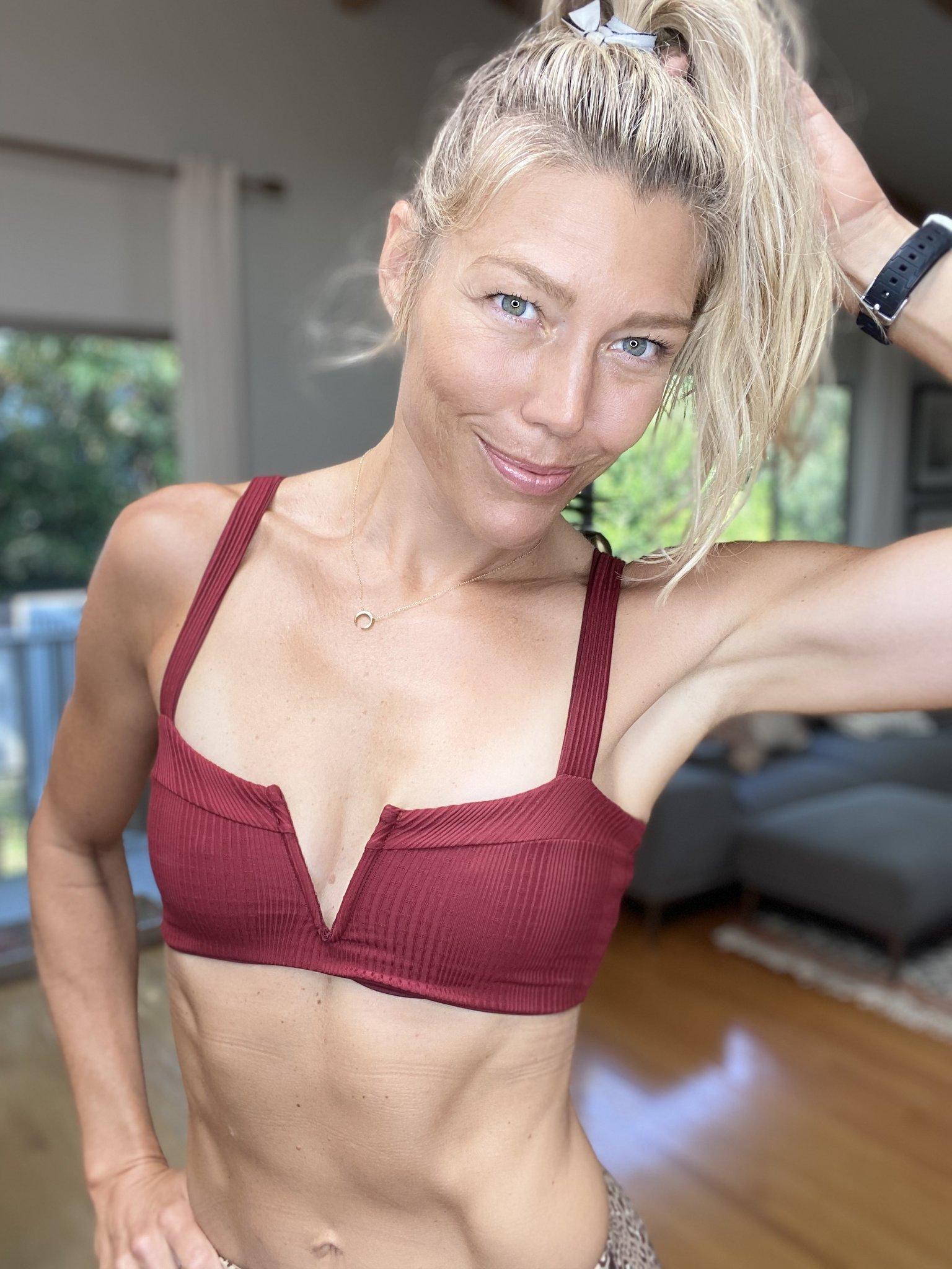 Fitness Instructor Alicia Araki wearing L*Space
