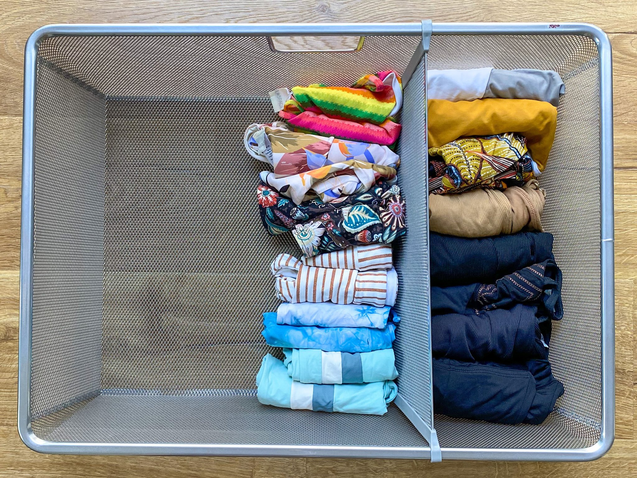L*Space guide to organizing your swimsuit drawer