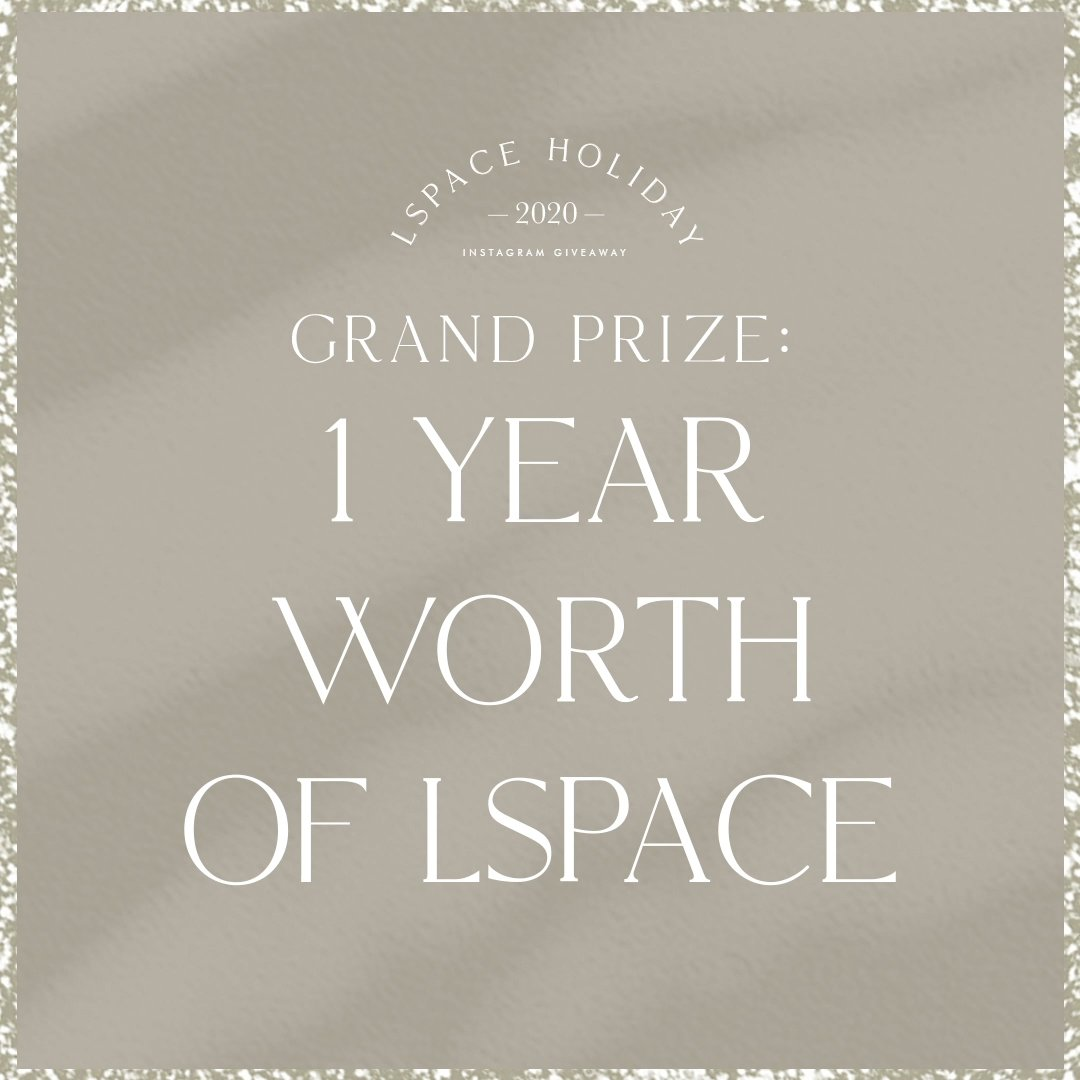 LSPACE grand prize giveaway