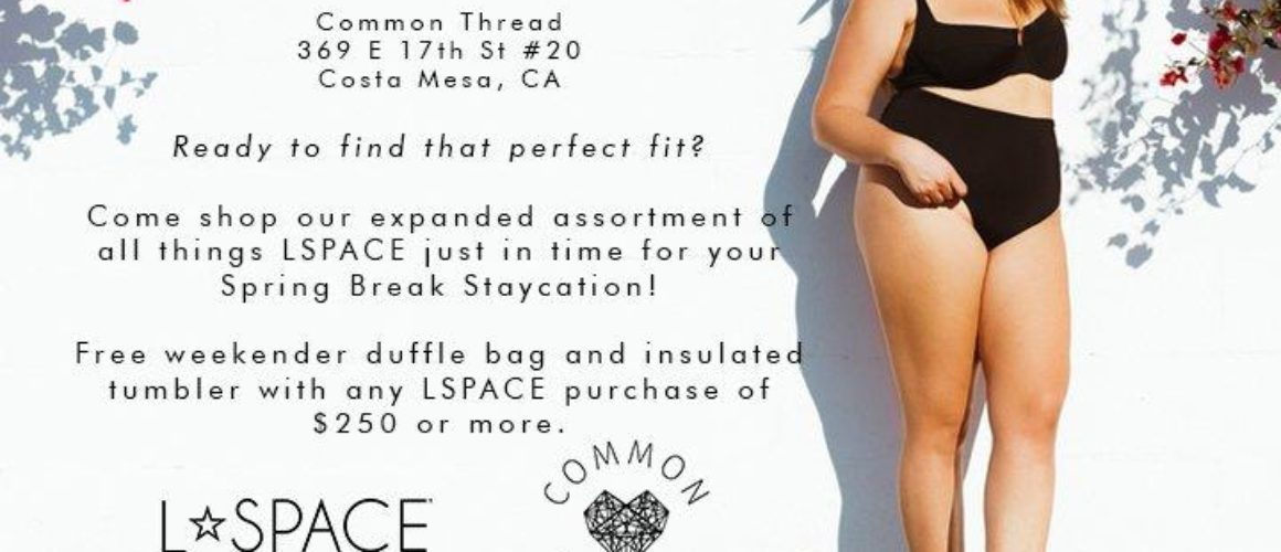 L*SPACE x Common Thread: Find Your Fit Event