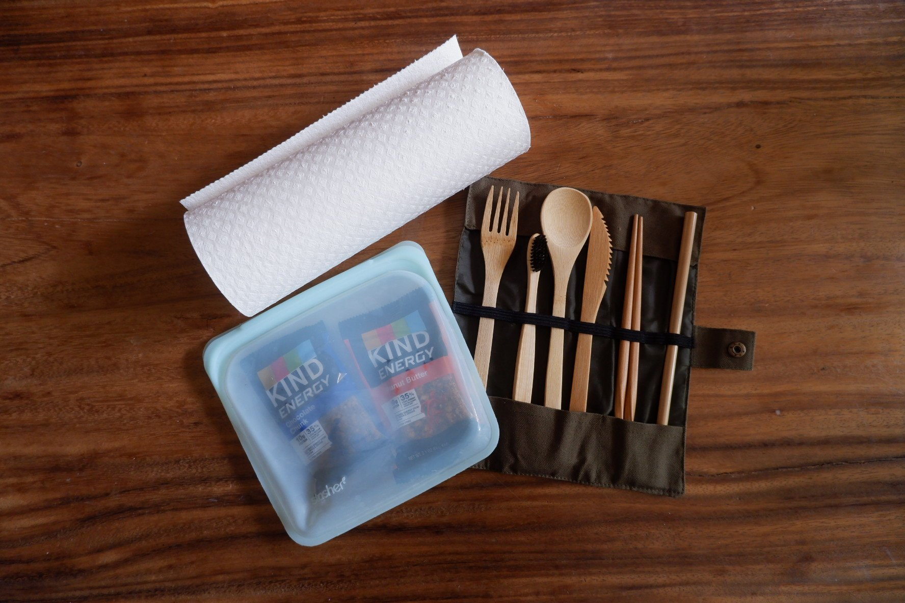 assorted eco friendly items