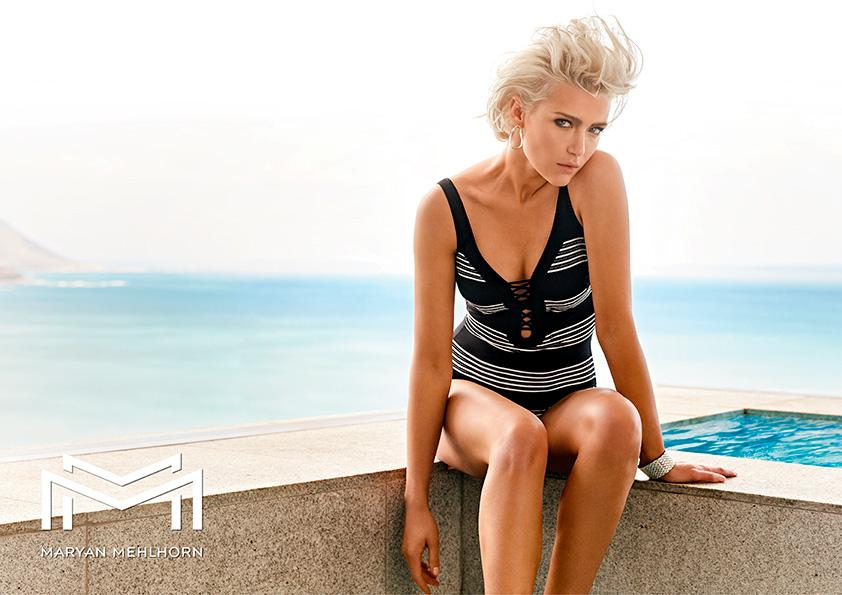 Maryan Mehlhorn Pace Lace Swimsuit